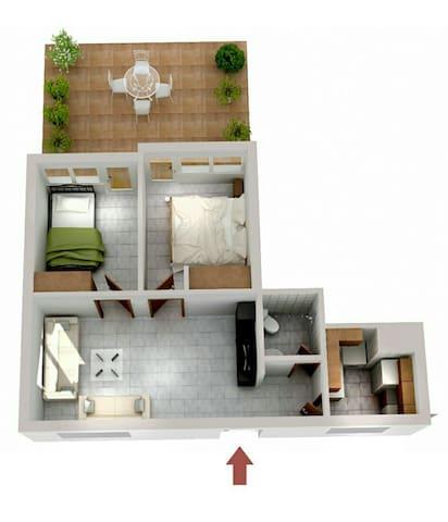 Nice apartment near the sea!!! - Perea - Apartment