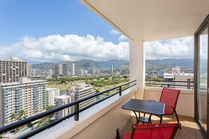 Delightful Waikiki Skytower - โฮโนลูลู - อพาร์ทเมนท์