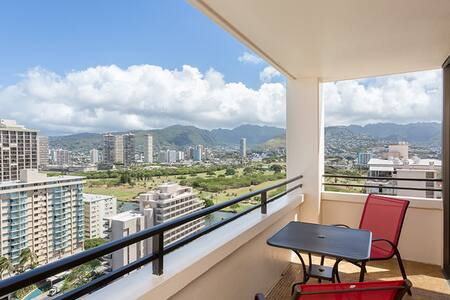 Delightful Waikiki Skytower - Appartement