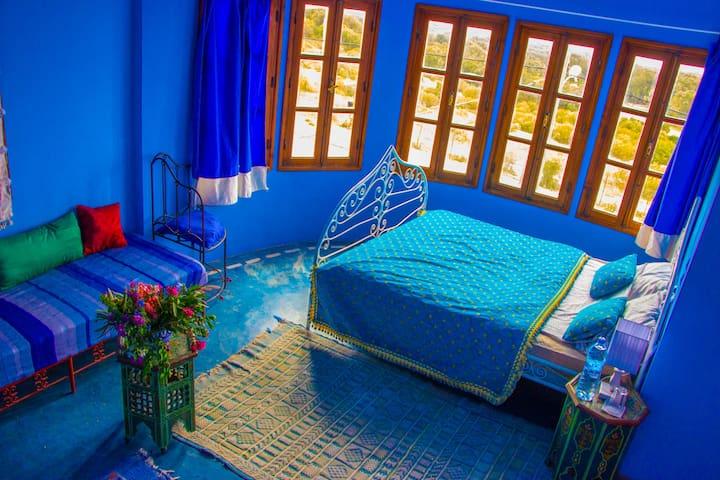 Suite bleue vue mer et golf 2 pers - Essaouira - Apartment