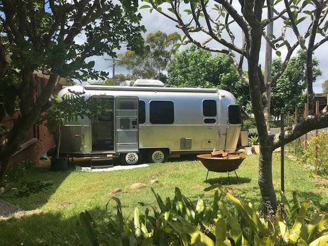 Airstream Glamping at the Beach
