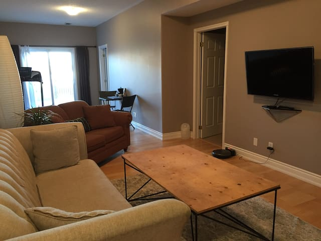 Pet friendly suite, close to downtown and 401