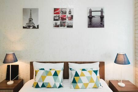 London City: Квартира-студия 33 м2