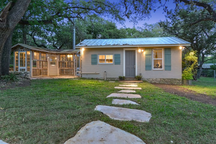 Grey Forest Cottages ( Studio Cottage) - Helotes - Pension