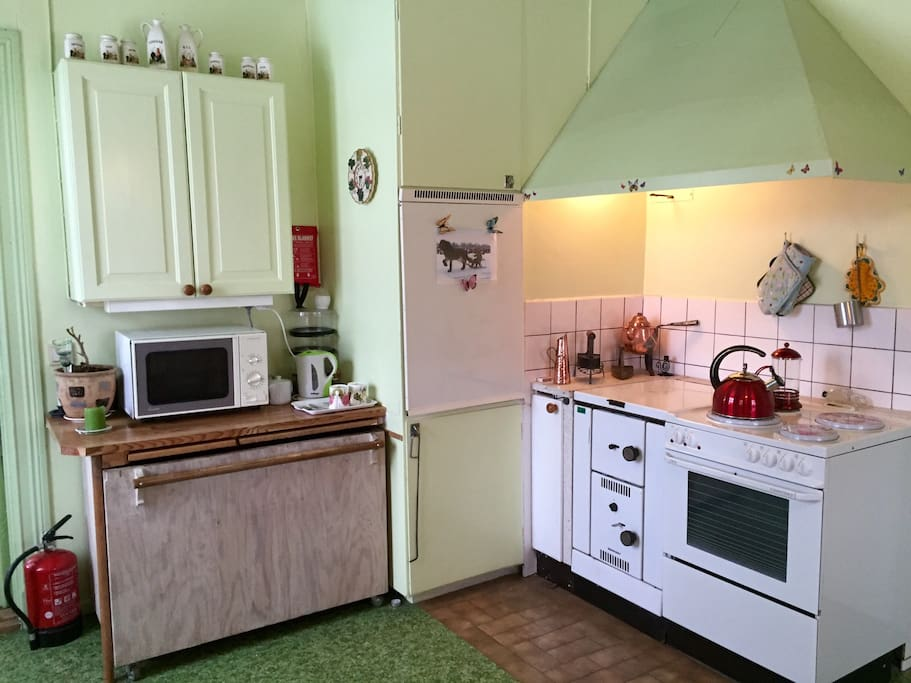 Cosy room with private kitchen usage