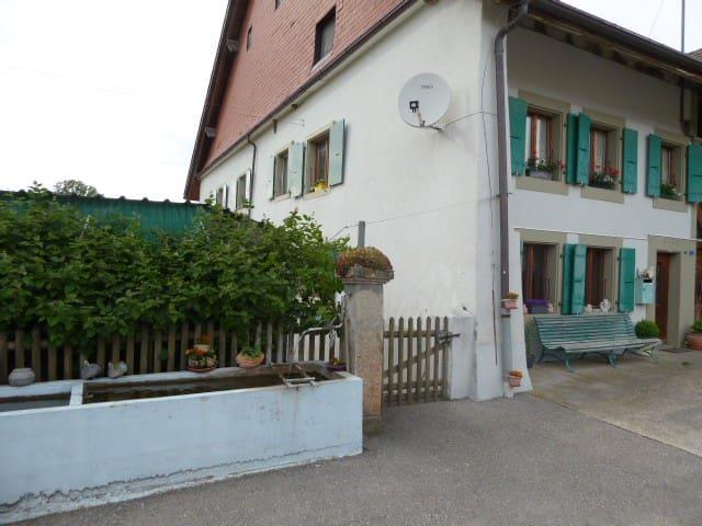 logement en Campagne Vaudoise - Carrouge - Appartement