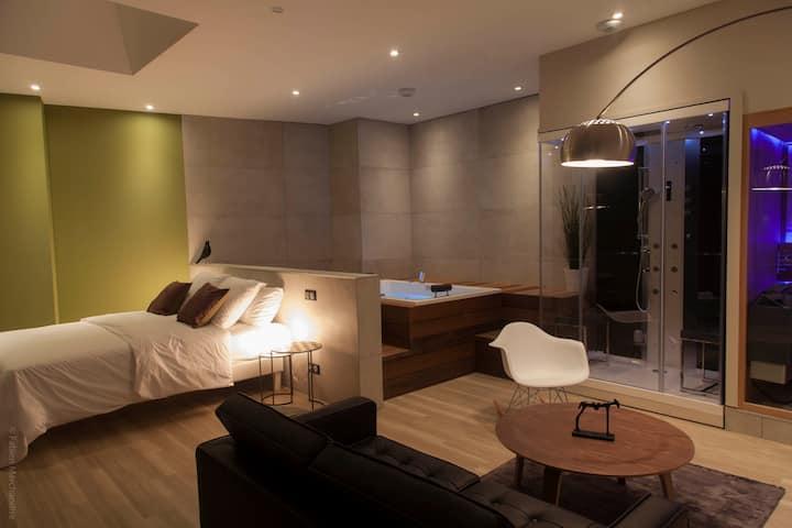 Apartamento con spa privado