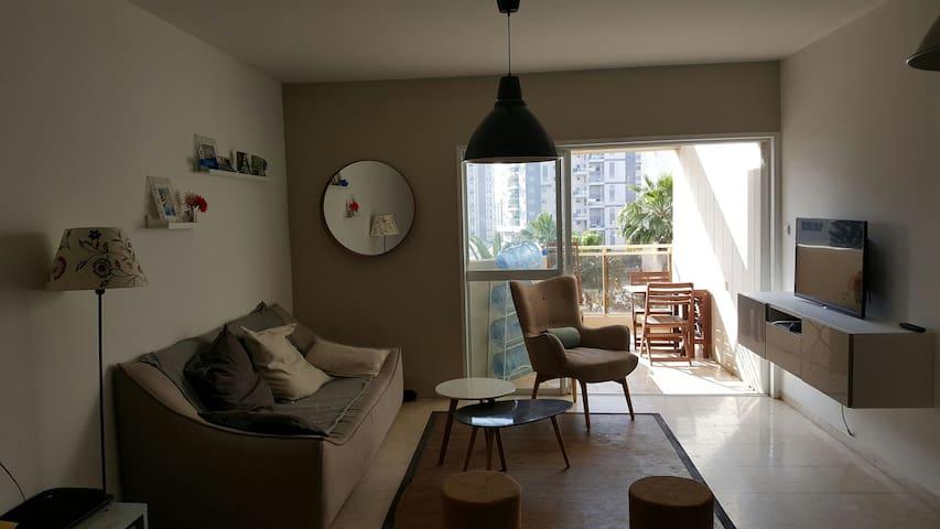 Nice flat for family in ramat poleg