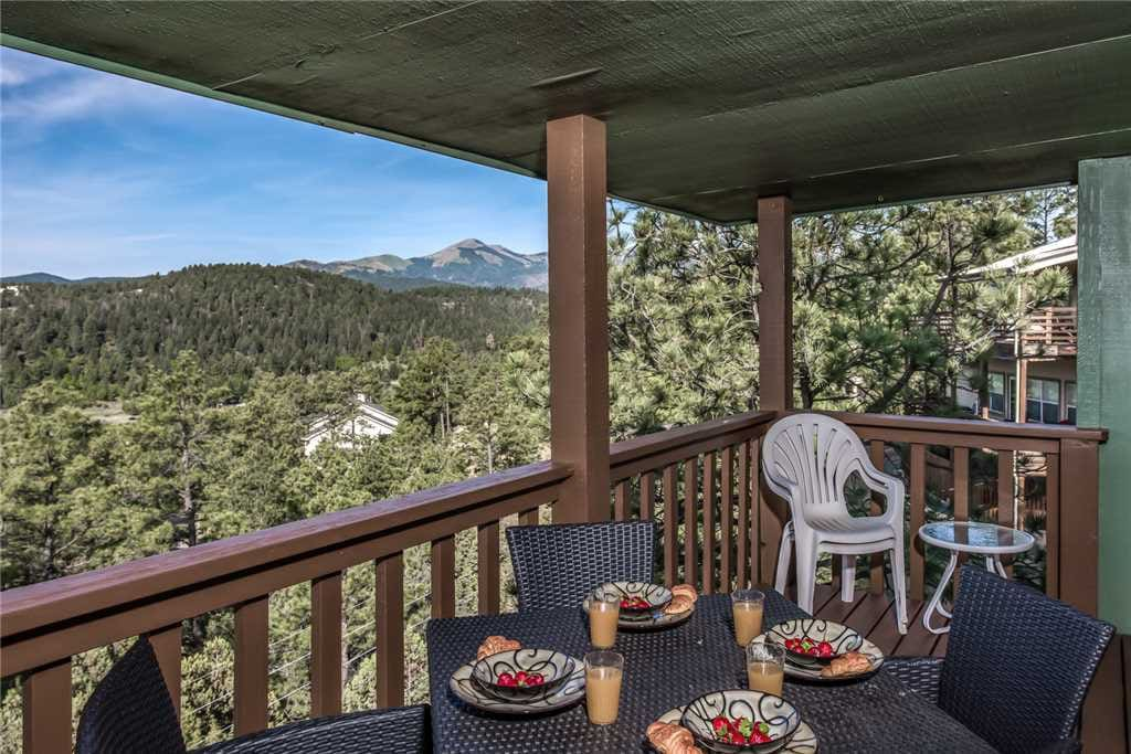 Views! - The beautiful deck, complete with nature and mountain views, is an all-time favorite!