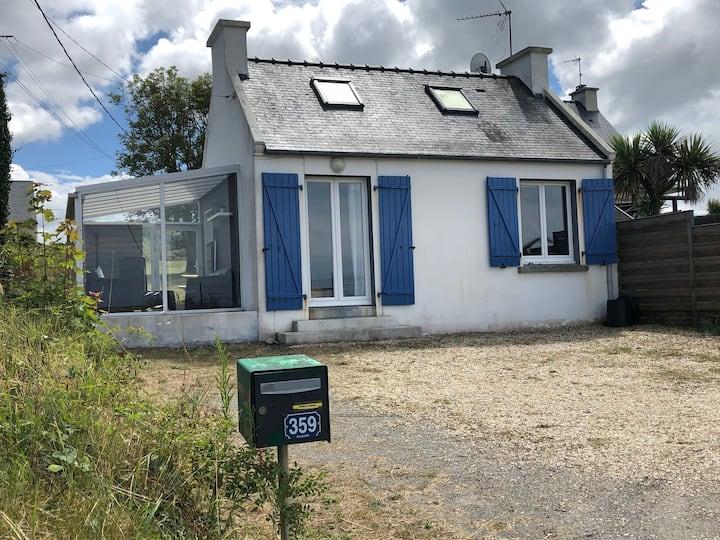 Nouveau : Maisonnette à 100 m de la plage