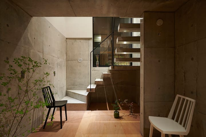 #103 Designer terrace house near Shinjuku
