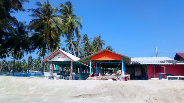 Chambre sur la plage  à bankrut Thaïlande