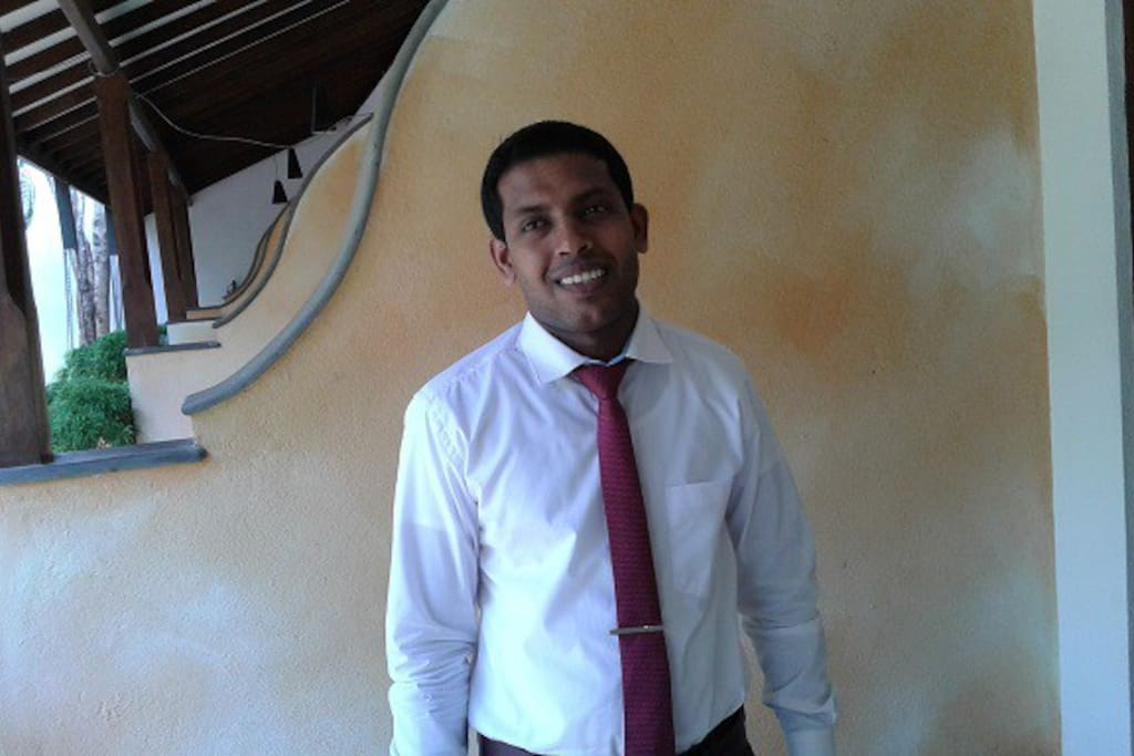 meet Chaminda the director of operations