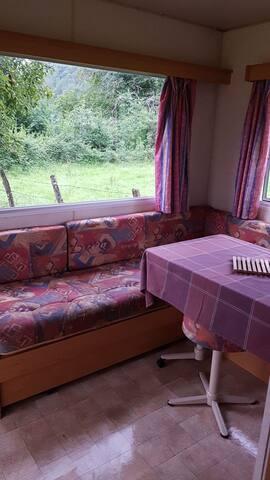 Salon salle à manger  Canapé lit