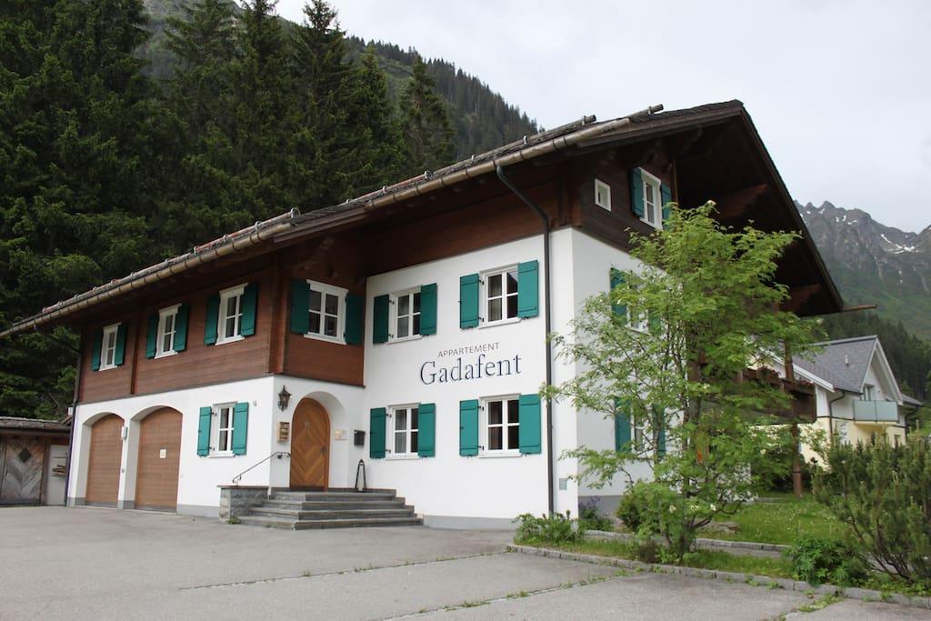 Haus Gadafent -  Hausansicht