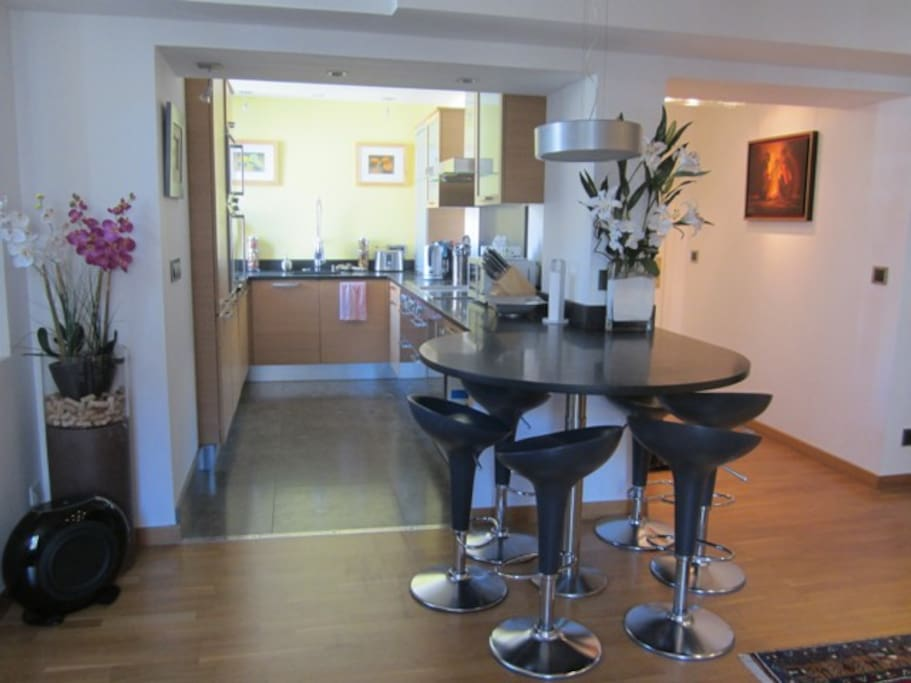 Dining Table & Kitchen