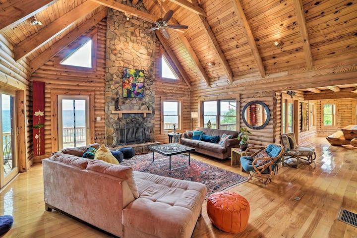 Shenandoah Valley Home w/ 270° Deck & Porch!