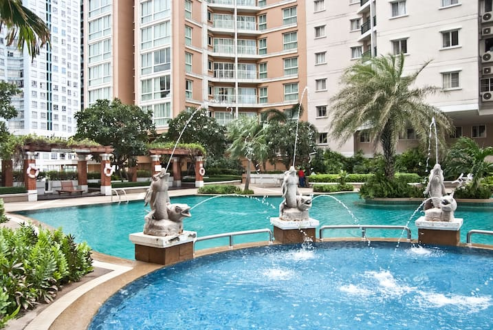 $€Economical$€ 2BR+WIFI near city! - Bangkok - Condominium