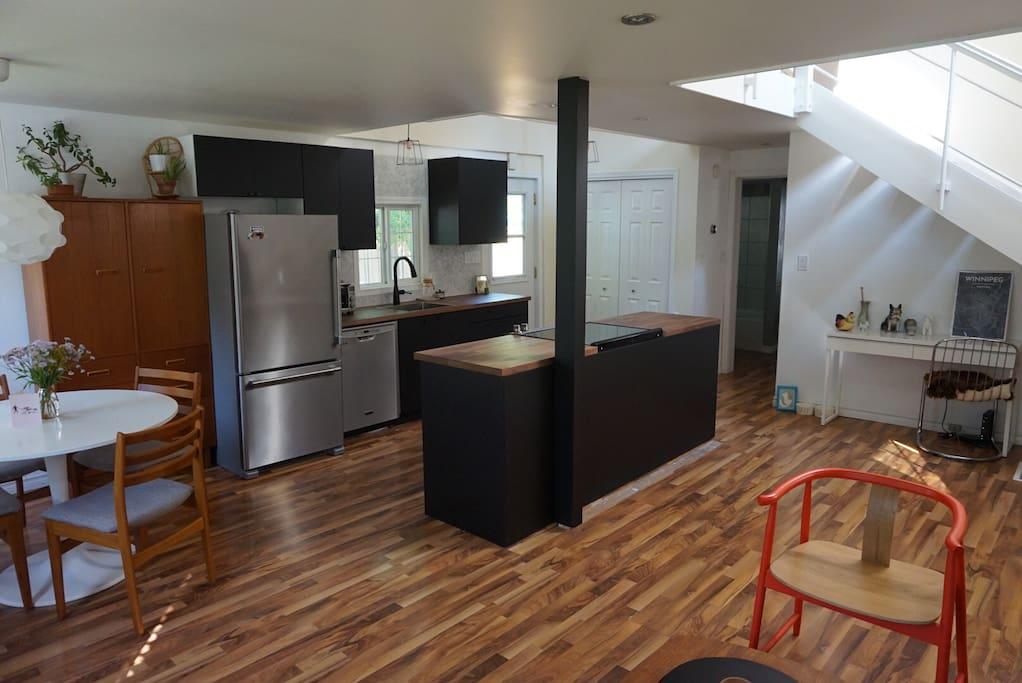 Lofted bungalow in south osborne case in affitto a for Piani di casa in stile ranch con due master suite