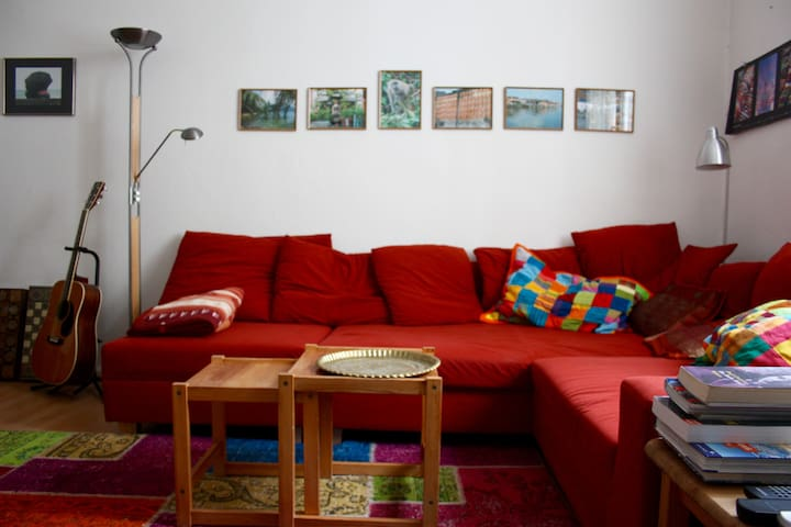 perfect central 2-room-flat - 60sqm - Hanover - Apartamento