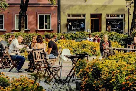 Cozy home in the heart of Malmoe