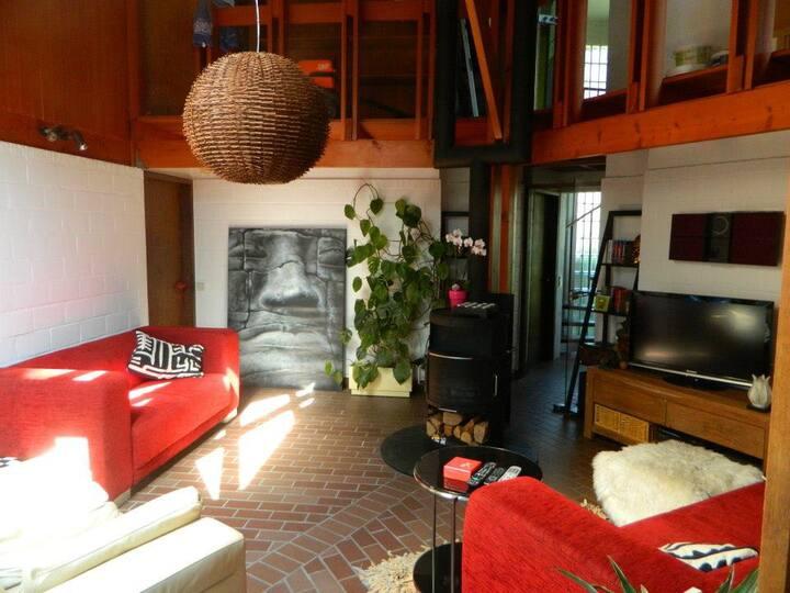 Villa Casita Loquita (ROOM/ STUDIO) Ghent 3km