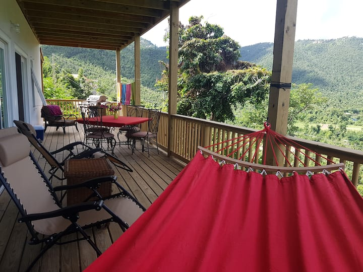 Sweet Escape!  45' deck with valley views
