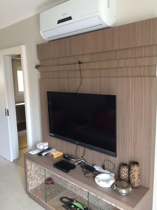 sala de estar - ar condicionado