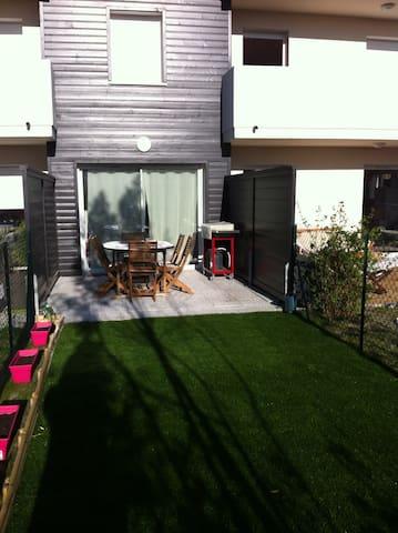 Studio neuf avec jardin proche plages et centre - Capbreton - Apartment