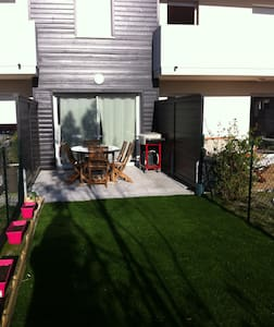 Studio neuf avec jardin proche plages et centre - Capbreton - Huoneisto