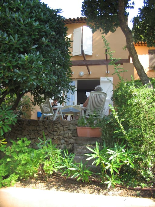 terrasse jardinet