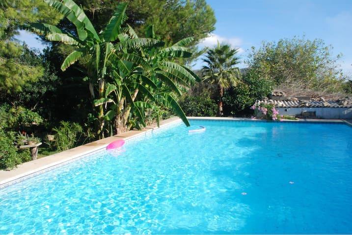 Finca Son Blanch gr. Pool, Sauna - Sa Pobla - Casa