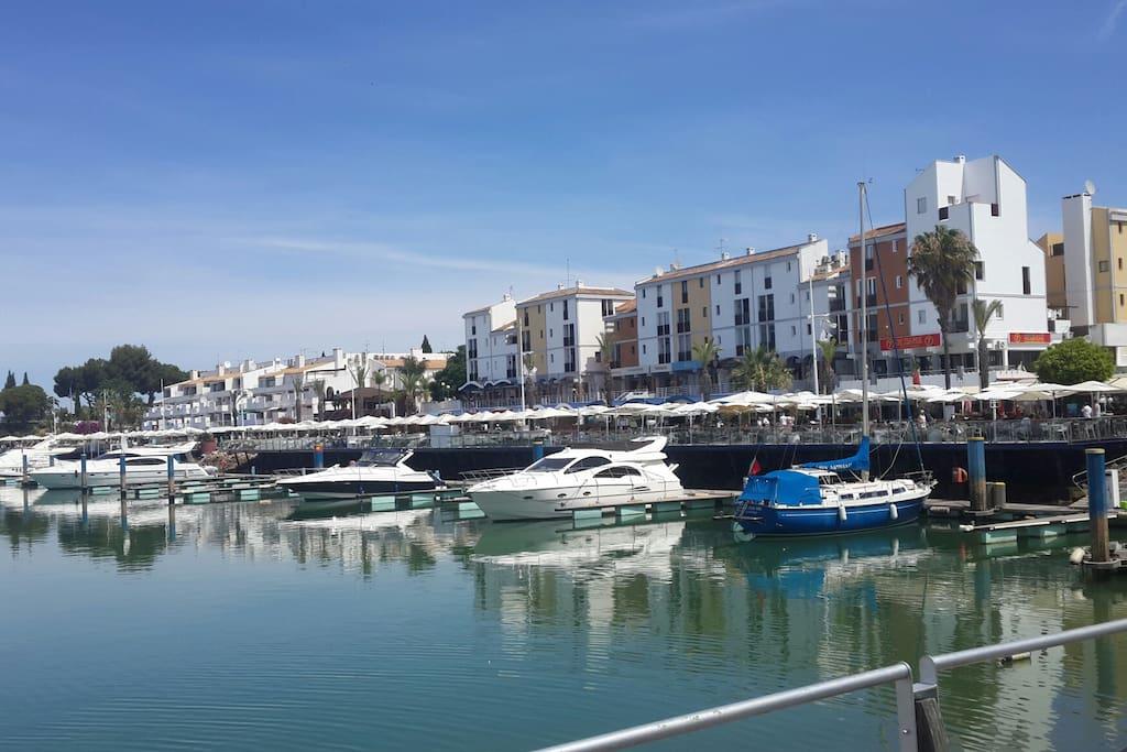 Vilamoura Marine view