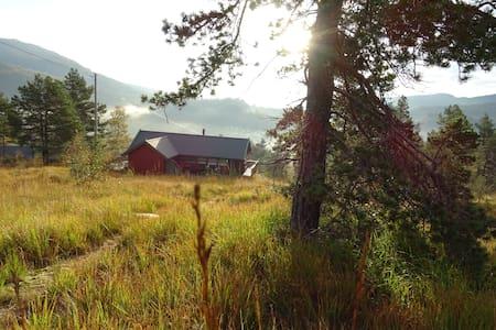 Den koselige røde hytten - Norheimsund