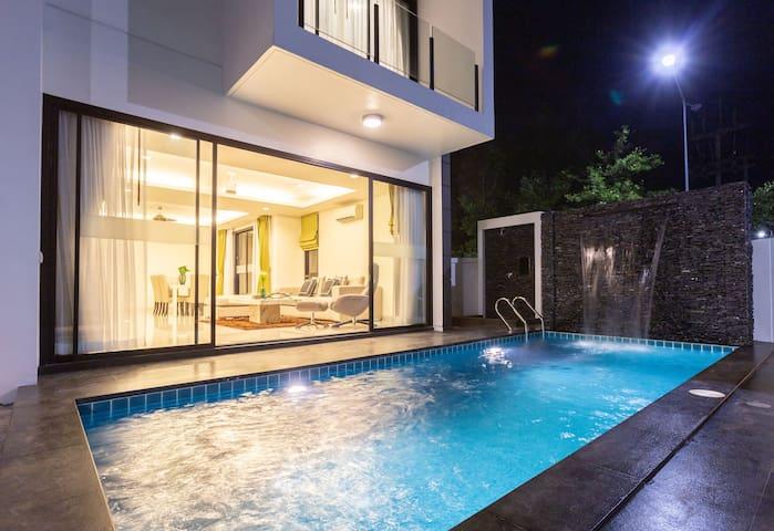 2开业促销!拉古娜海滩悦榕庄Vip五卧室私人泳池别墅,可步行到海滩-S