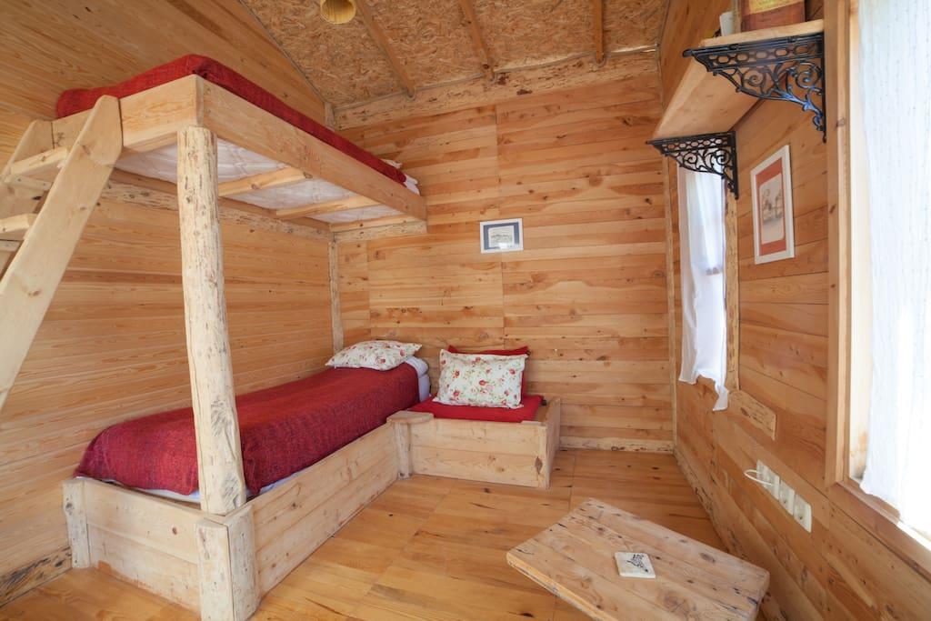 Shanti garden pinar wooden house bungalows zur miete in for Badezimmer 16m2