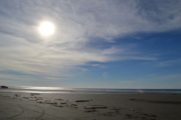 Wide Open Beaches.  Drive, walk the dog and enjoy the fresh air
