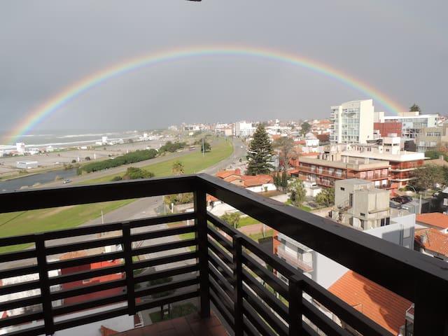 Punta Mogotes,hermosa vista al mar y al atardecer - Mar del Plata - Apartment
