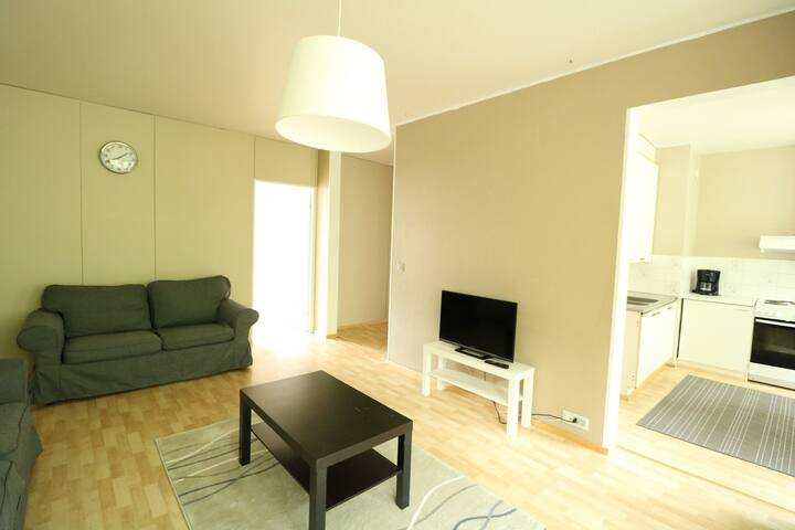 Three bedroom apartment in Kirkkonummi, Lindalintie 4