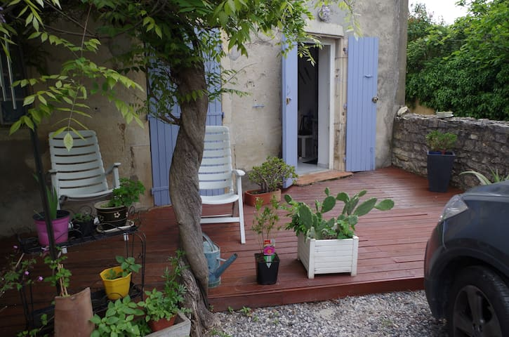 Joli appartement de plein pied - Saint marcel les Sauzet - Apartamento