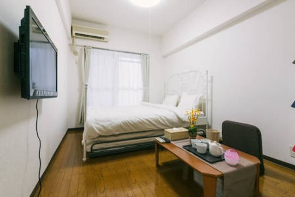 20sqm apartment with kitchen, toilet and bathroom exclusively for guest use