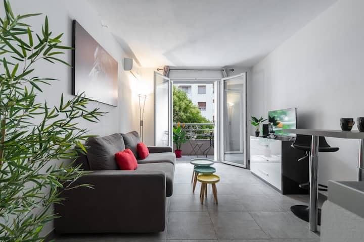 Magnifique Studio - balcon - climatisé