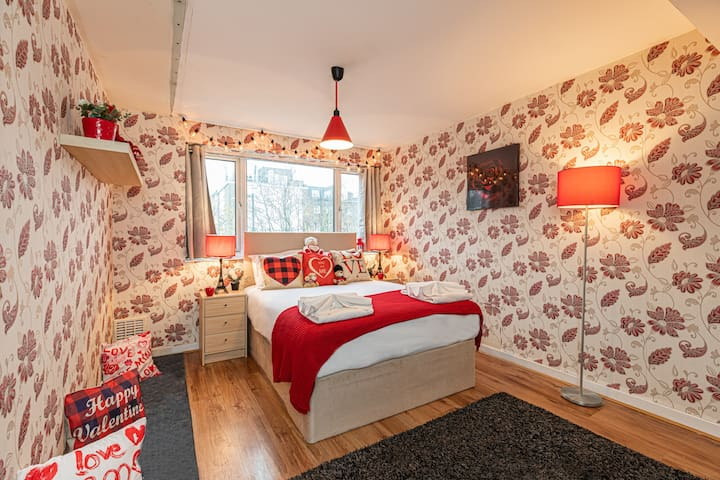 ★ Very Romantic Designer Room near Oxford St. A2 ★