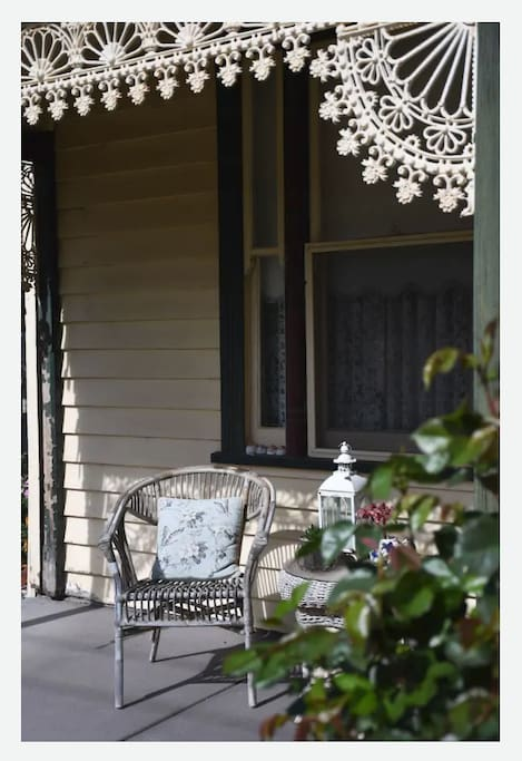 Enjoy the shade of the front porch