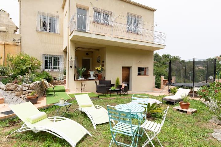 villa jardin privatif