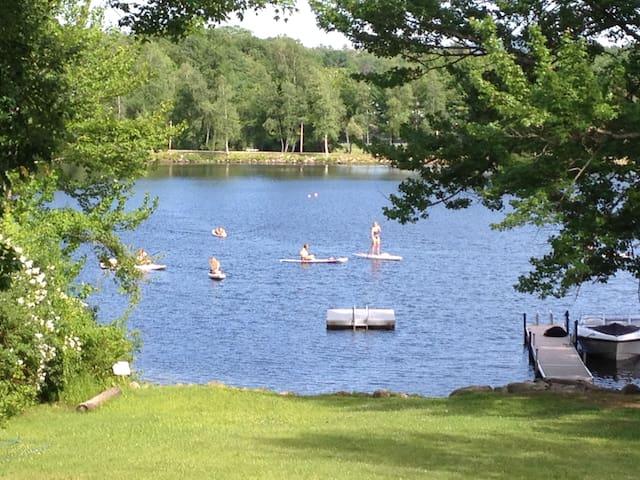 Winni Cottage beach, dock & Kayaks! - Wolfeboro - Dům