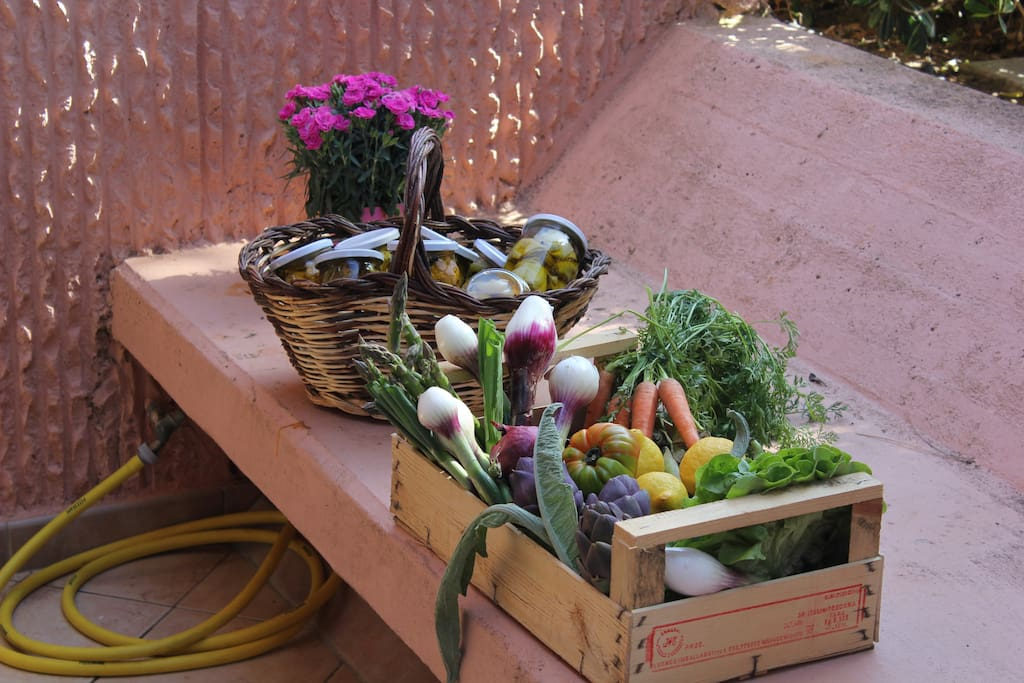 Delicious fruit and vegetables from Tuscany!
