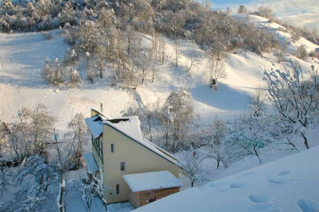 Casa Heidi in December