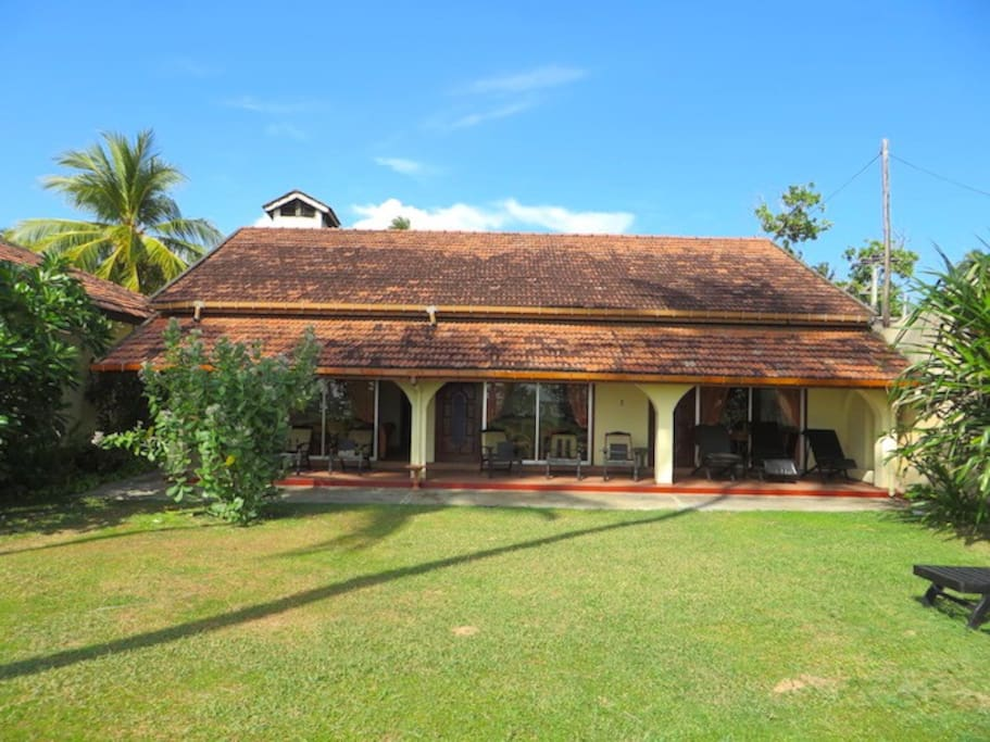 """Garden View at """"Paradise Villa"""""""