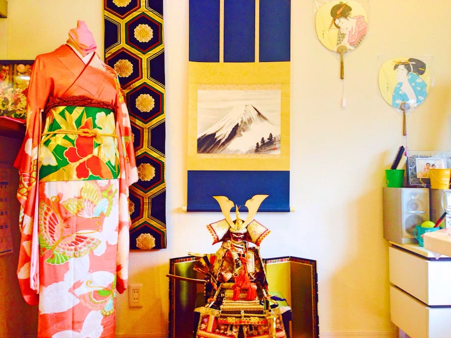 Welcome to our Japanese culture house!!